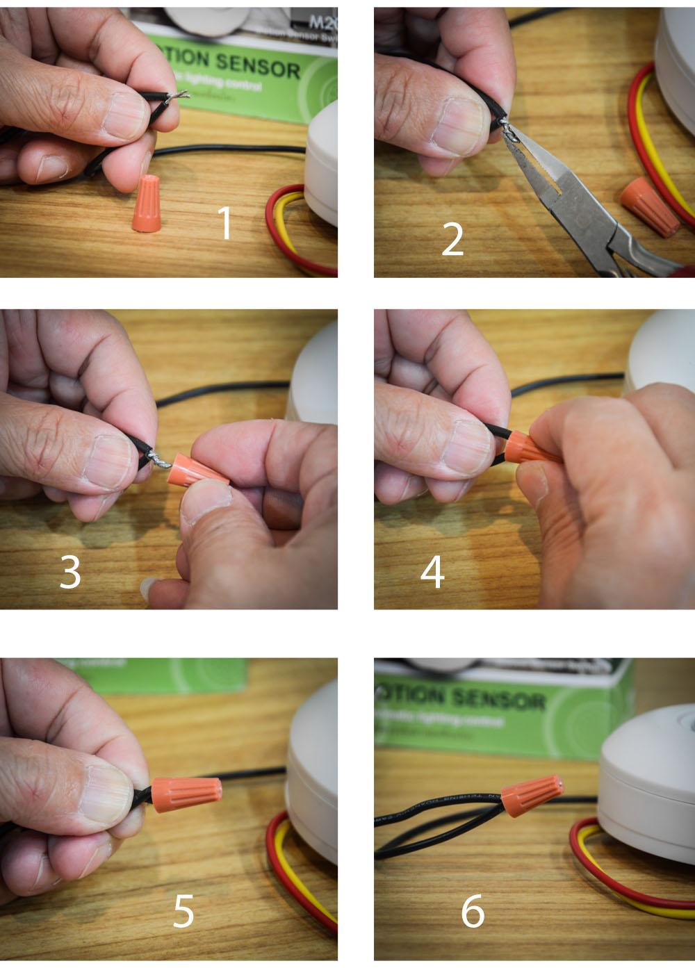 การต่อ wire nut